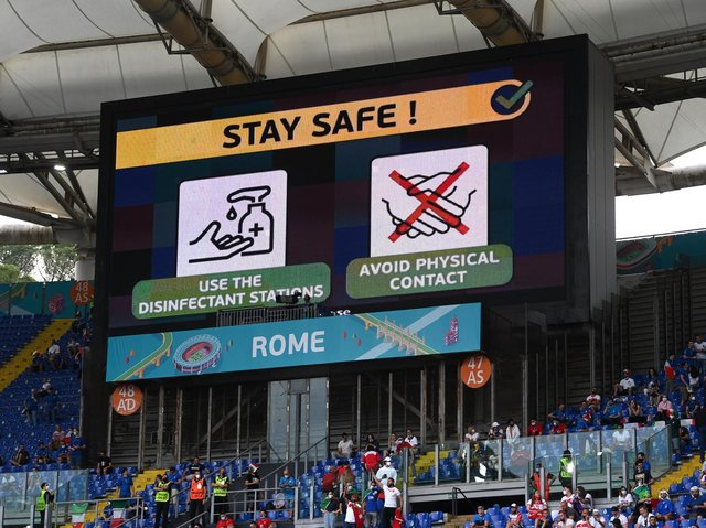 EURO 2020: Organisers have made rule changes for the tournament to help teams cope with potential cases of Covid-19. Picture: Getty Images.