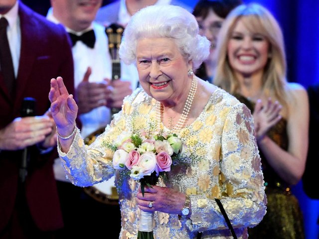 Students at a college at Oxford have been criticised for voting to remove a portrait of the Queen from their common room. (AFP via Getty Images)