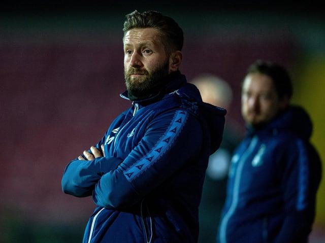 NEW JOB: Bradford City's Mark Trueman