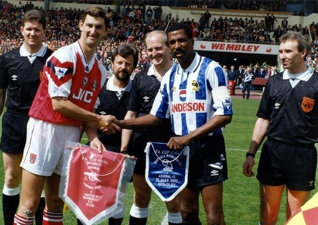 Viv Anderson had successful spells at both Sheffield Wednesday and Arsenal