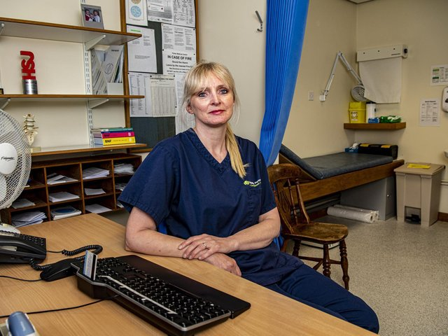 Skipton GP Deborah Livesey, 53, is one of thousands across Yorkshire who has contended with changes to the way she works. Photo: Tony Johnson