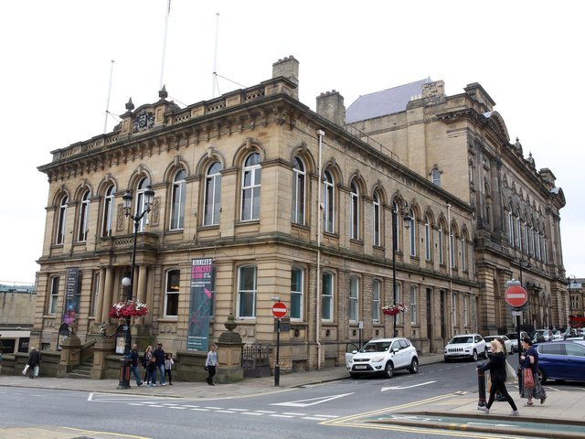 The meeting was held at Huddersfield Town Hall