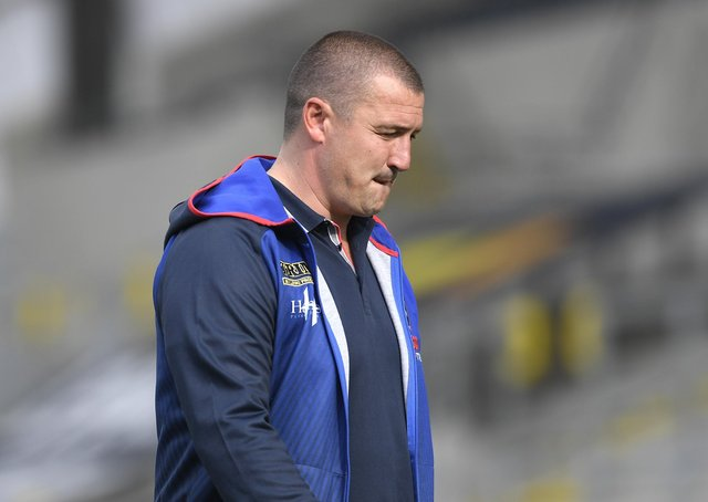 BE CAREFUL: Chris Chester, head coach of Wakefield Trinity. Picture: George Wood/Getty Images