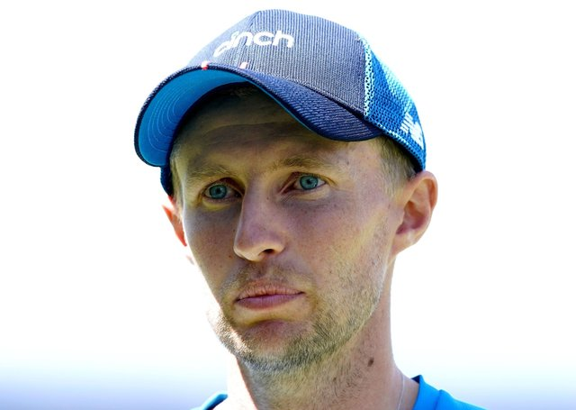 England's Joe Root. Picture: PA