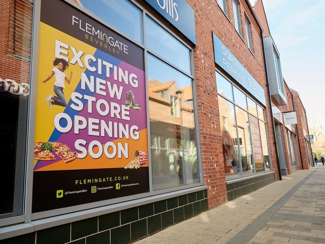 Sports Direct and the USC streetwear and fashion brand are coming together under one roof in this unit at the Flemingate centre in Beverley. Picture: R&R Studio.