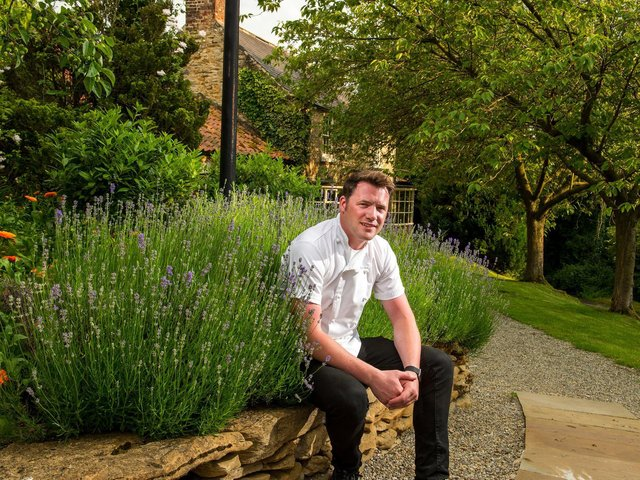 Chef Tommy Banks at the Black Swan, Oldstead. Picture Bruce Rollinson