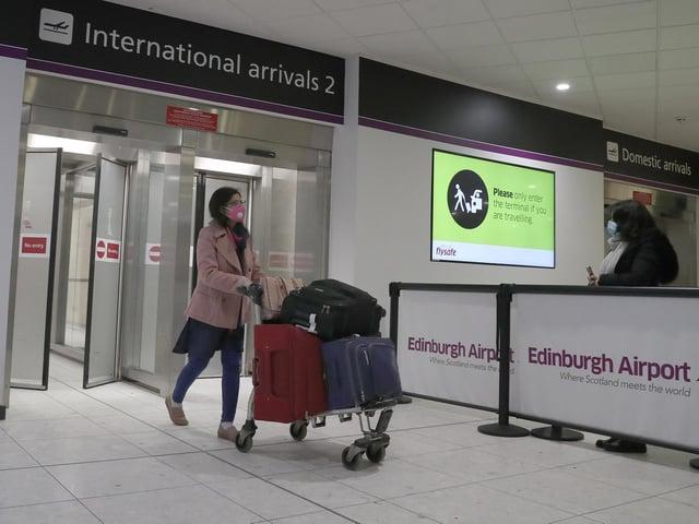 UK airports lost 223 million passengers last year due to the coronavirus pandemic, figures show.