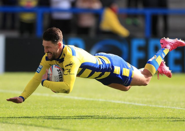 In form: Warrington Wolves' Gareth Widdop. Picture: PA