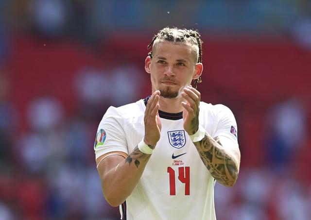 England's Kalvin Phillips. (Picture: Glyn Kirk/Pool Photo via AP)