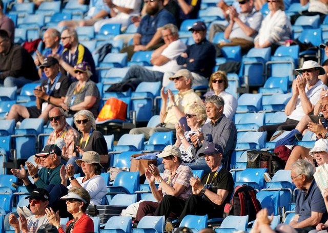 Yorkshire fans back inside Headingley this season. Picture: PA