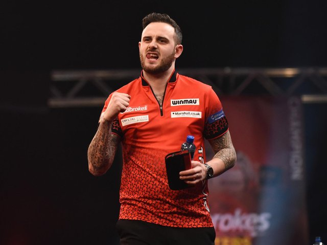 Joe Cullen. Picture by PDC/Lawrence Lustig.