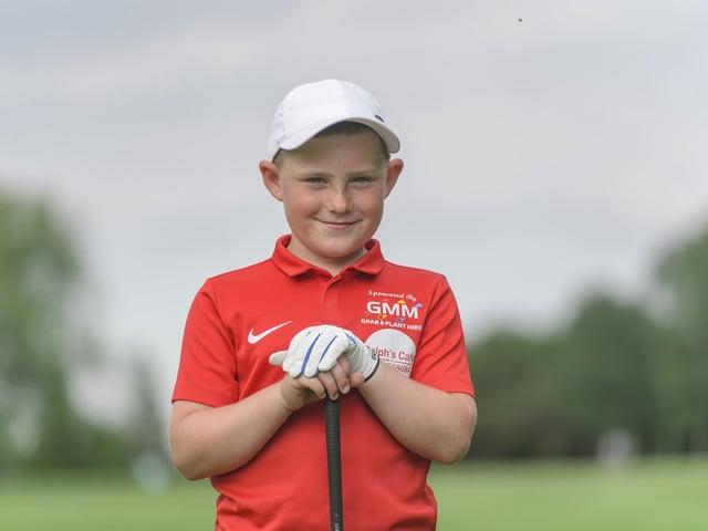 Talented golfer Layton Riches