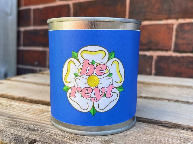 The Yorkshire candle carries a white rose scent