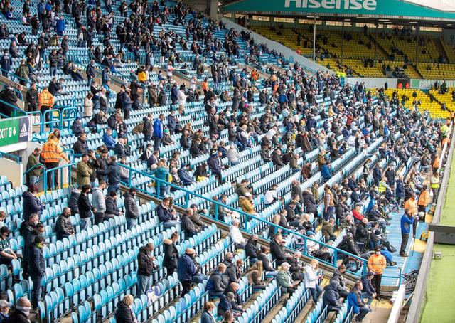Elland Road Stadium. Picture: Bruce Rollinson