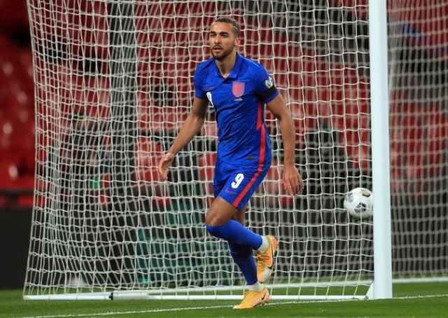 England's Dominic Calvert-Lewin. Picture: PA.