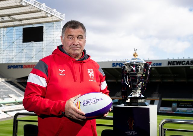 England Rugby League head coach Shaun Wane: Plans again disrupted by covid. Picture: SWPix