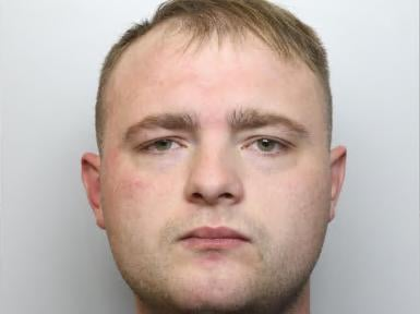 Lee OBrien was jailed for four years. Photo: South Yorkshire Police