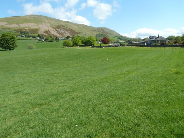 The greenfield site allocated for the housing estate