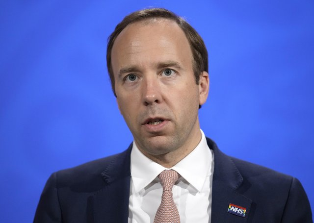 matt Hancock has been left humiliated by the disclosure of WhatsApp messages between Boris Johnson and Dominic Cummings.