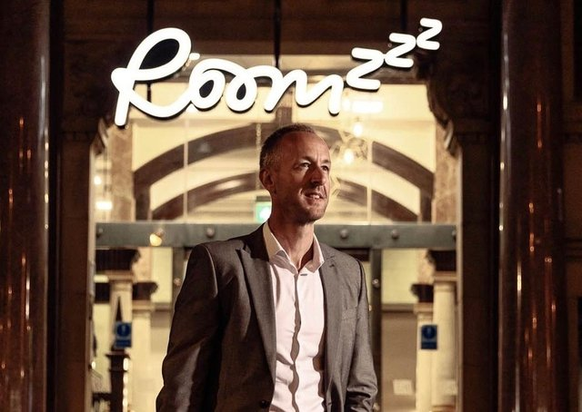 Robert Alley, chief operating officer at Roomzzz Aparthotels. Picture: Felix Shumack