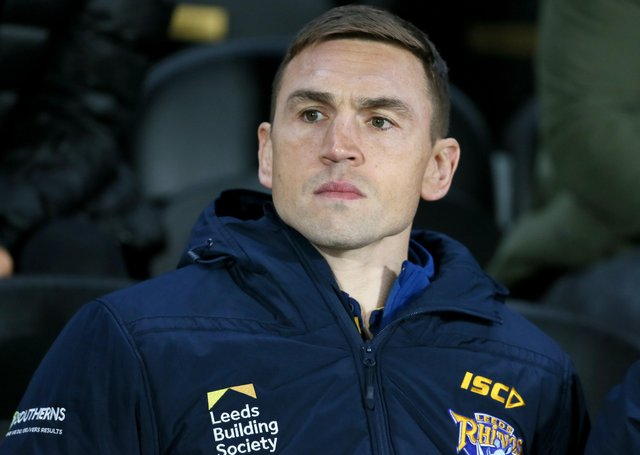 Kevin Sinfield, Leeds Rhinos' director of rugby. Picture: Richard Sellers/Getty Images