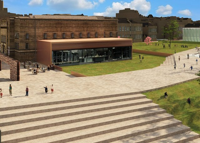 Kirklees Council hopes to accelerate the delivery of town centre improvements for Huddersfield, including an urban park.