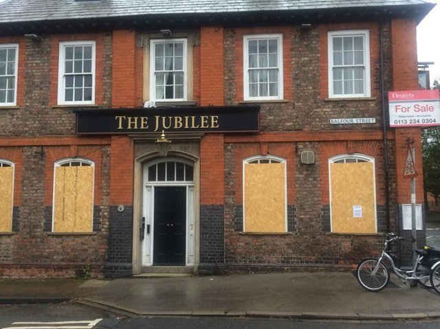 The Jubilee in Balfour Street, originally opened in 1897 and was named for Queen Victoria's diamond jubilee, but it has stood empty and boarded up since 2016.