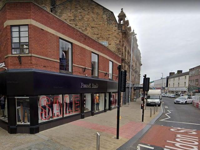 The Frank Bird store in Barnsley