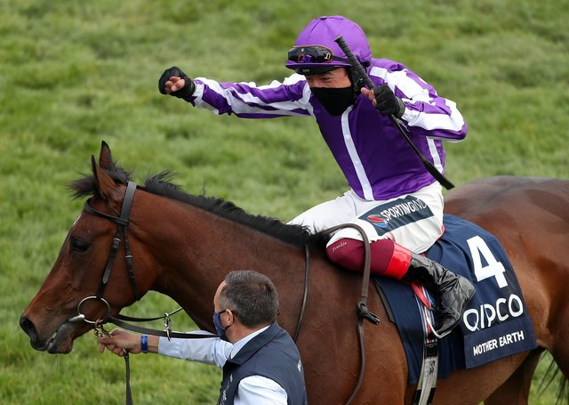 Mother Earth, victorious in last month's 1000 Guineas under Frankie Dettori, lines up in todya's Coronation Stakes at Royal Ascot.