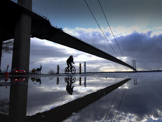 Library image of the Humber Bridge. Hull and Humber Chamber of Commerce plays a major role in promoting inward investment.