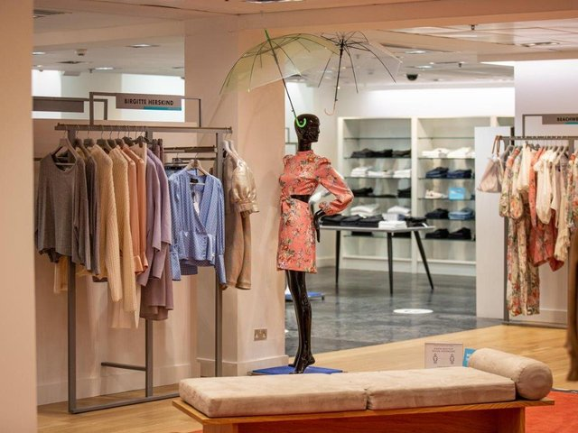 Harvey Nichols in Leeds has launched its a 40% off sale on selected designer fashion, shoes and accessories