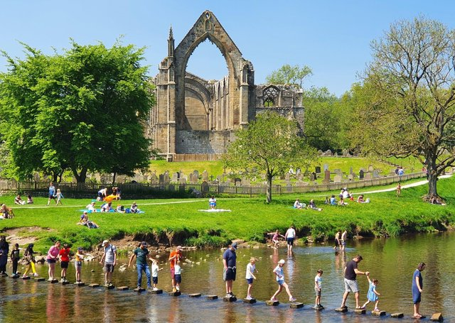 Access to Bolton Abbey is proving to be a source of consternation for cyclists.