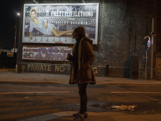 A prostitute waits for a customer on the streets of Holbeck, the only 'managed' zone for prostitution in the UK on November 14, 2018. Picture: Christopher Furlong/Getty