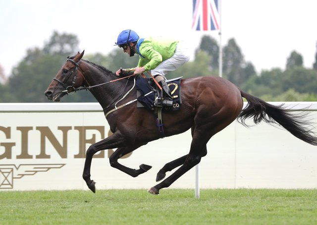 Subjectivist ridden by jockey Joe Fanning wins the Gold Cup during day three of Royal Ascot at Ascot Racecourse.
