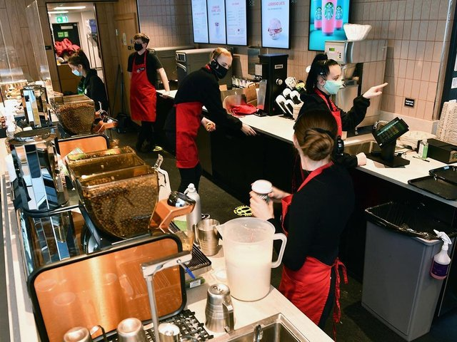 Starbucks slumped to a £41m loss in the UK in 2020.