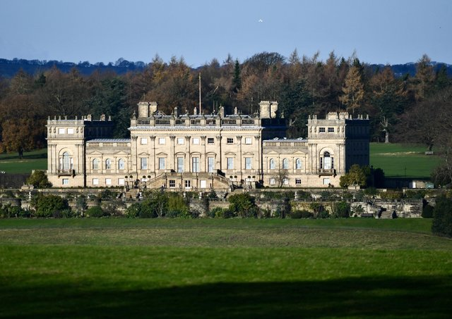 Harewood House has been cited in the 'woke' debate.