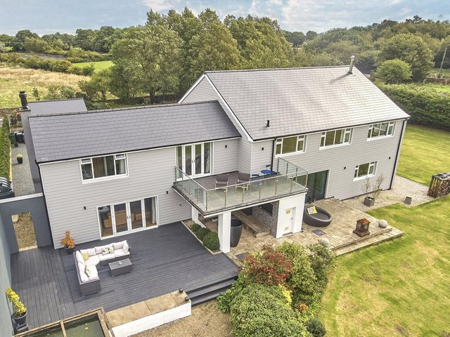 Melanie Brown has just moved from this property after renting it for a year.  She would've stayed but the owners are now selling the house, which is on the market for £1.4m with Monroe Estate Agents
