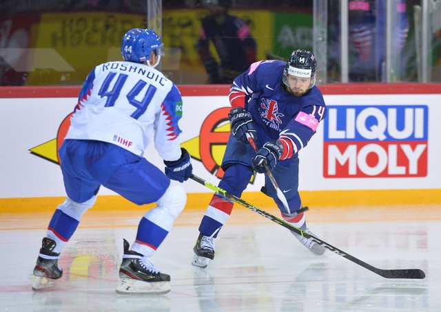 US-BOUND: Liam Kirk has kept his hopes of playing in the NHL alive after securing a three-year entry-level contract with the Arizona Coyotes. Picture courtesy of Dean Woolley.