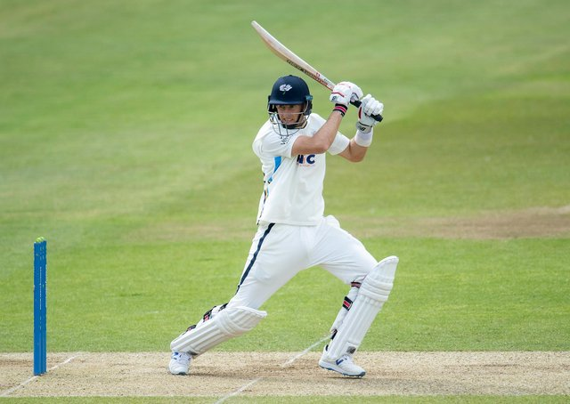 Root's Return: England captain Joe Root is set to feature for Yorkshire Vikings tomorrow. He is one of a number of Engloand batsmen who have struggled for consistency this summer. Picture by Allan McKenzie/SWpix.com