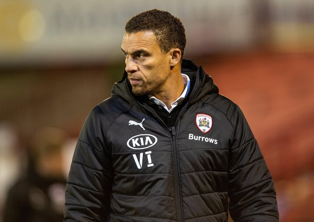 Valerien Ismael, Barnsley FC manager, is wanted by West Brom (Picture: Bruce Rollinson)