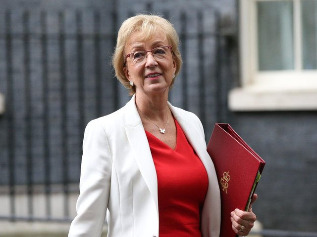 Former business secretary Conservative MP Dame Andrea Leadsom. PIC: PA