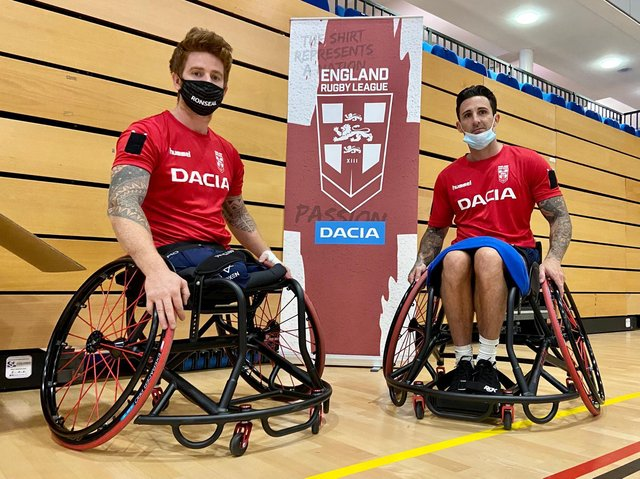 SQUAD NAMED: England Wheelchair Rugby League have named a 10-man squad for next week's international against Wales. Picture courtesy of the RFL.