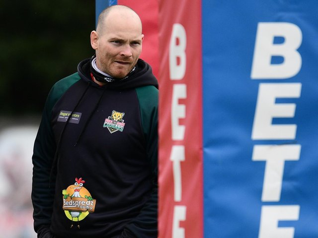 Keighley Cougars coach Rhys Lovegrove has seen his club's game called off due to Covid. (SWPIX)
