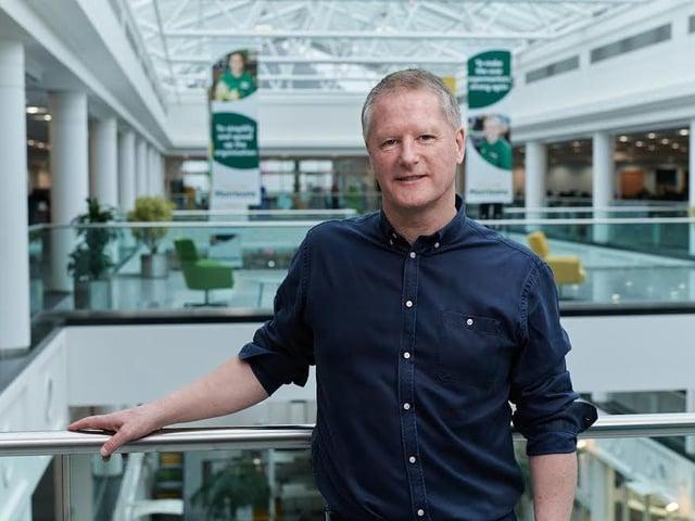 Morrisons' chief executive, David Potts