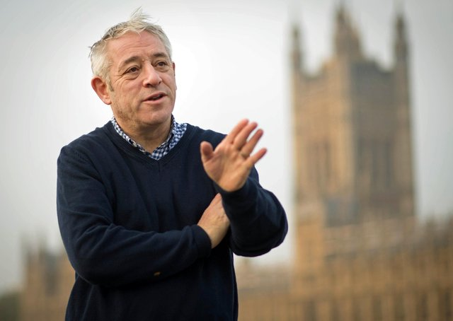 File photo dated 31/10/19 of John Bercow who has denied discussing the prospect of a peerage with Sir Keir Starmer after the former Commons speaker and Tory MP defected to the Labour Party.