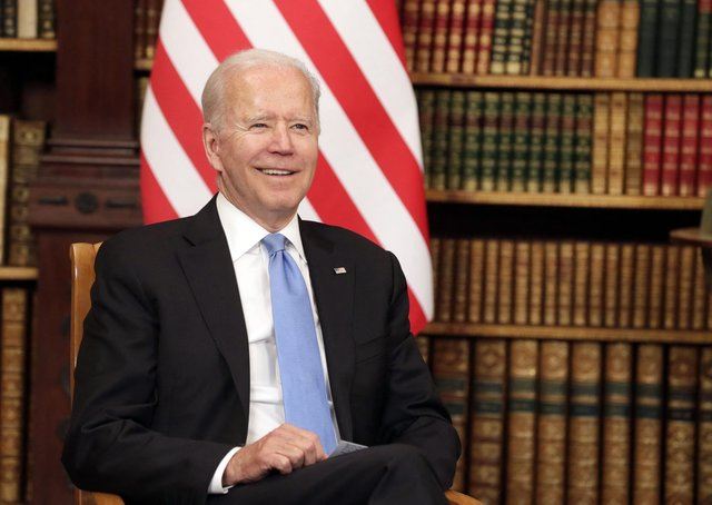 President Joe Biden during his visit to Britain and Europe earlier this month.