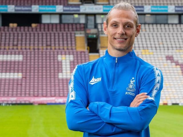Oscar Threlkeld. Picture courtesy of Bradford City AFC.