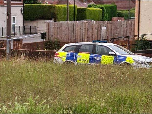 Police were called after gang violence in Skellow on Thursday night.