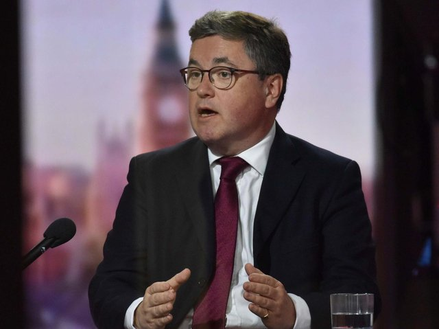 Justice Secretary Robert Buckland QC on the Andrew Marr Show on Sunday