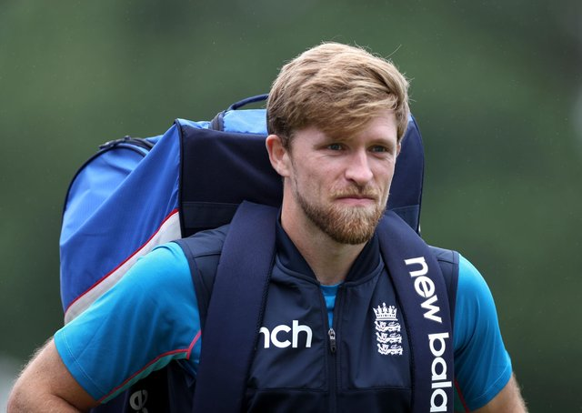 More than a drinks carrier: Martyn Moxon hopes England will give David Willey plenty of action. Picture: PA
